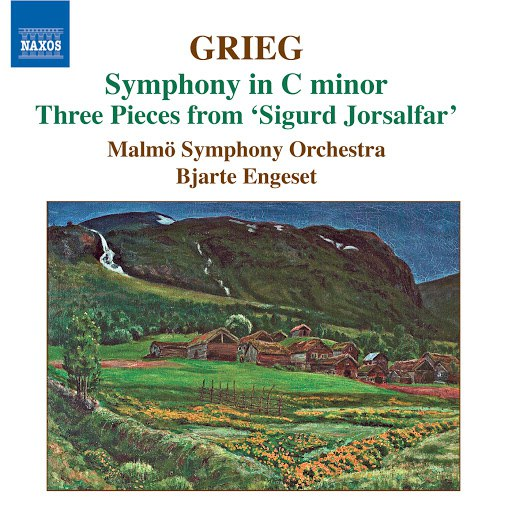 Edvard Grieg альбом Grieg: Symphony in C Minor - Old Norwegian Romance With Variations