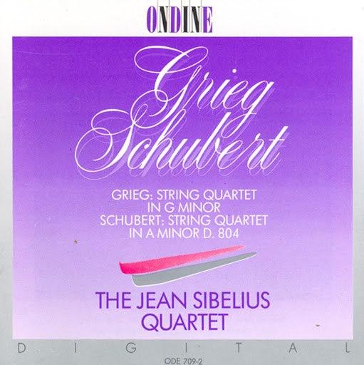 Edvard Grieg альбом Grieg: String Quartet In G Minor / Schubert: String Quartet No. 13