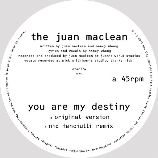 The Juan Maclean альбом Your Are My Destiny