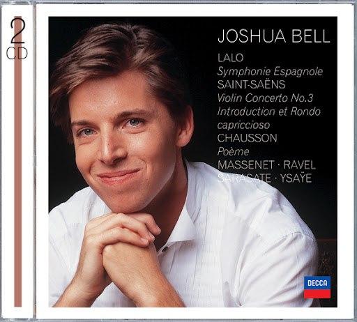 Joshua Bell альбом Violin Concertos: Lalo, Saint-Saëns, Massanet, Sarasate, Ravel, et al.