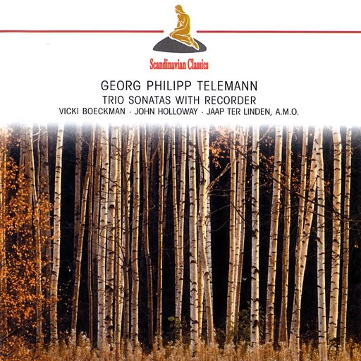GEORG PHILIPP TELEMANN альбом Telemann: Trio Sonatas With Recorder