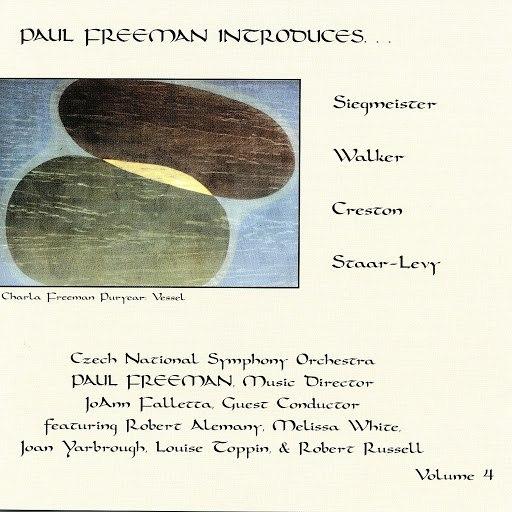 Paul Freeman альбом Paul Freeman Introduces, Vol. 4