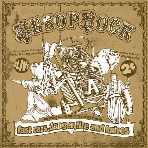 Aesop Rock альбом Fast Cars, Danger, Fire and Knives