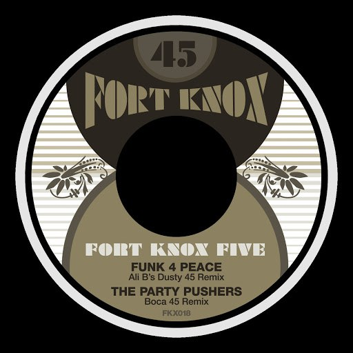 Fort Knox Five альбом Radio Free DC Remixed Vol. 5