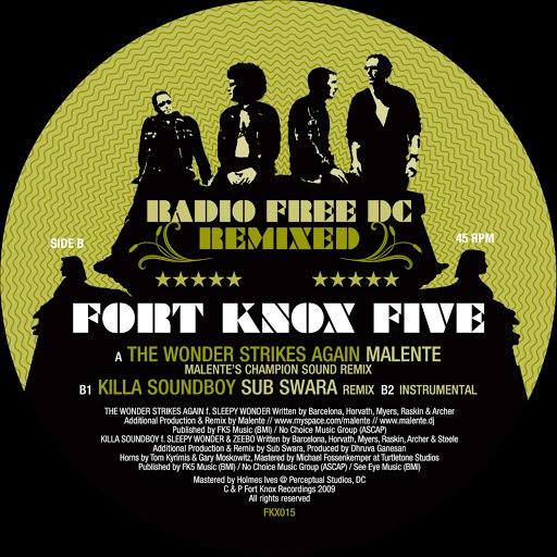 Fort Knox Five альбом Radio Free DC Remixed Vol. 2