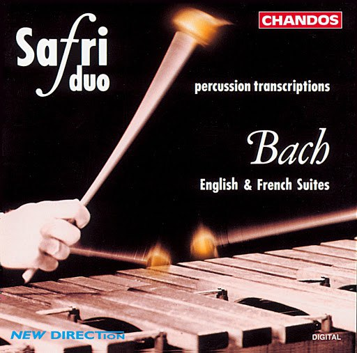 Safri Duo альбом Bach: English Suites Nos. 2 and 4 and French Suite No. 6 (Arr. for Percussion Duo)