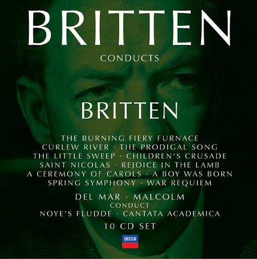 Benjamin Britten альбом Britten conducts Britten Vol.3