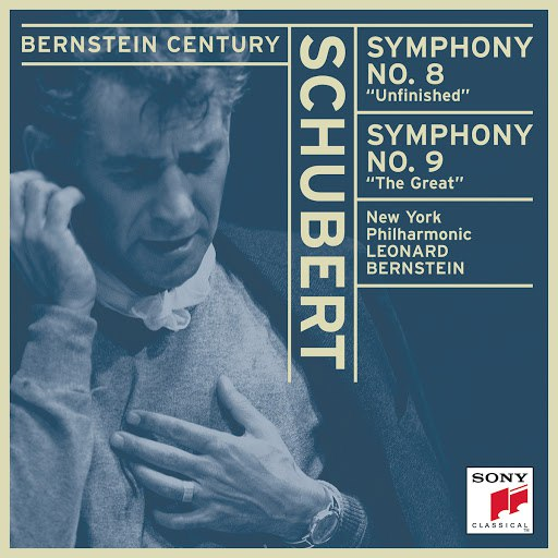 "Leonard Bernstein альбом Schubert: Symphonies No. 8, ""Unfinished"" and No. 9, ""The Great"""