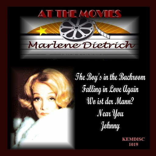 Marlene Dietrich альбом At the Movies