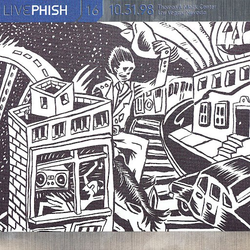 Phish альбом LivePhish, Vol. 16 10/31/98 (Thomas & Mack Center, Las Vegas, NV)