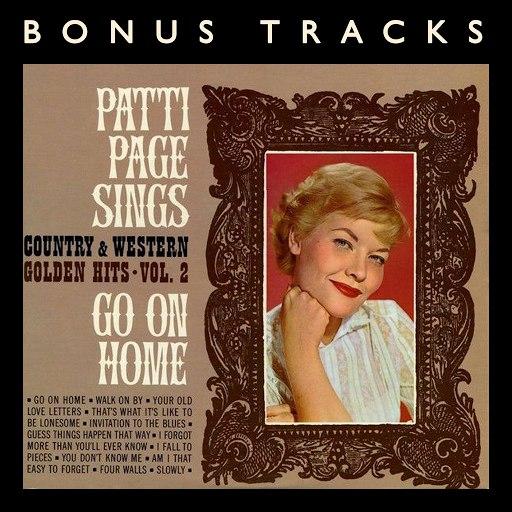 Patti Page альбом Go On Home (With Bonus Tracks)