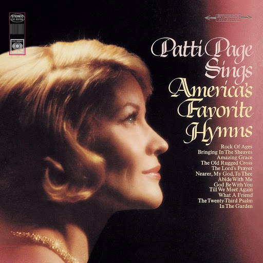 Patti Page альбом Sings America's Favorite Hymns