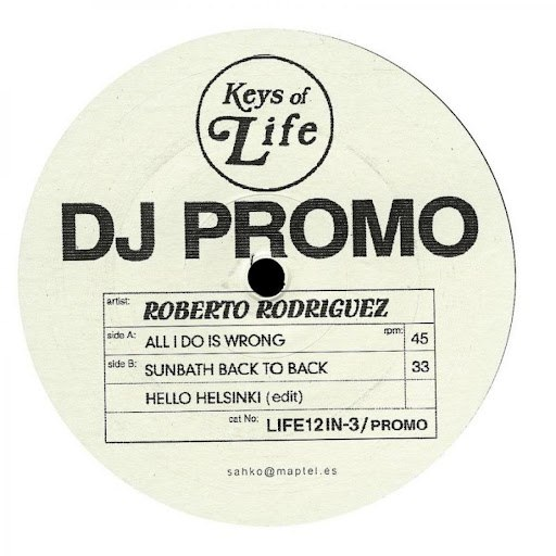 Roberto Rodriguez альбом All I Do Is Wrong / DJ Promo