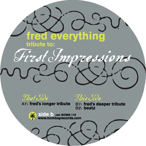 Fred Everything альбом Tribute To First Impressions