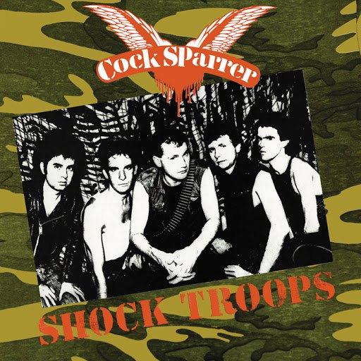 Cock Sparrer альбом Shock Troops