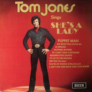 Tom Jones альбом She's A Lady