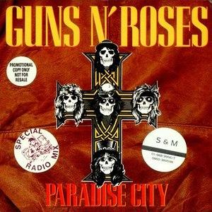 Guns N' Roses альбом Paradise city