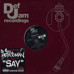 Method Man альбом Say