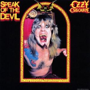 Ozzy Osbourne альбом Speak Of The Devil