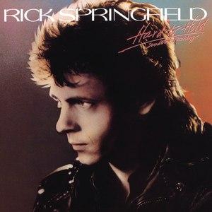 Rick Springfield альбом Hard To Hold