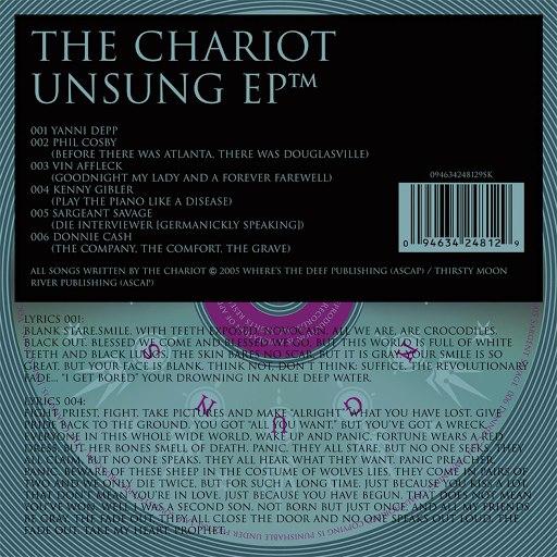 The Chariot альбом Unsung