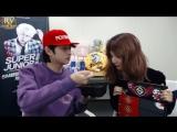 161122 Seulgi (Red Velvet) & Heechul (Super Junior) @ S.M. Super Celeb League [рус.саб]