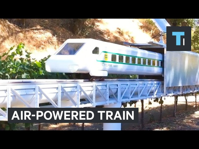 This train could hit 200 mph on just air power