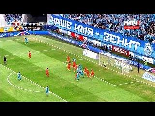 ЗЕНИТ - УРАЛ 2:0 Обзор матча 22.04.17 РФПЛ HD