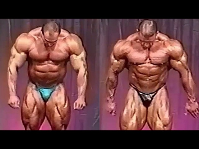 Nasser El Sonbaty Vs Dorian Yates | 1996 VIDEO COMPARISON.