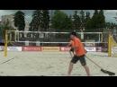 Beach volley Russia Moscow 2017 M Game 03 Adonin Karpukhin and Golovin Saraev