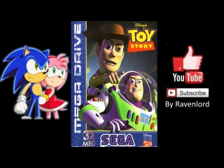 Toy Story (Sega 1996) Walkthrough By Ravenlord