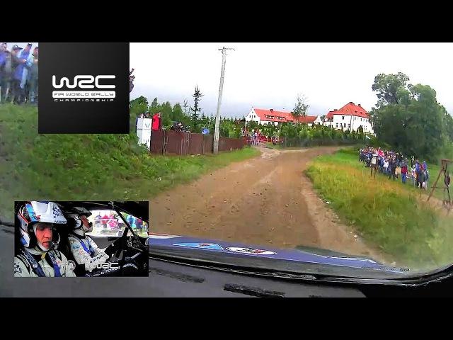 WRC - ORLEN 74th Rally Poland 2017 ONBOARD Tänak SS21
