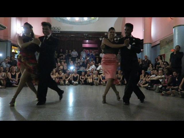 CHRISTIAN MARQUEZ y VIRGINIA GOMEZ and SEBASTIAN ACHAVAL y ROXANA SUAREZ en Viva La Pepa Jan 2017