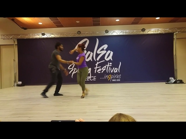 Terry Cecile - Partnerwork On2 Workshop @ 8th Salsa Spring Festival 2017