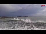 Ялта каждый день. 11.01.2017 - Хороший морской душ