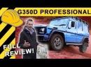 G-KLASSE IM TIEFFLUG! | MERCEDES G 350 d Professional OFFROAD EXTREM TEST inkl. 3,1t Anhänger
