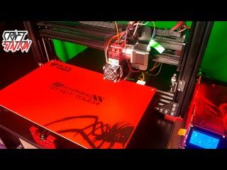 3D Принтер TEVO BLACK WIDOW Распаковка