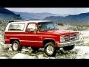 1985 88 Chevrolet K5 Blazer 1984 89