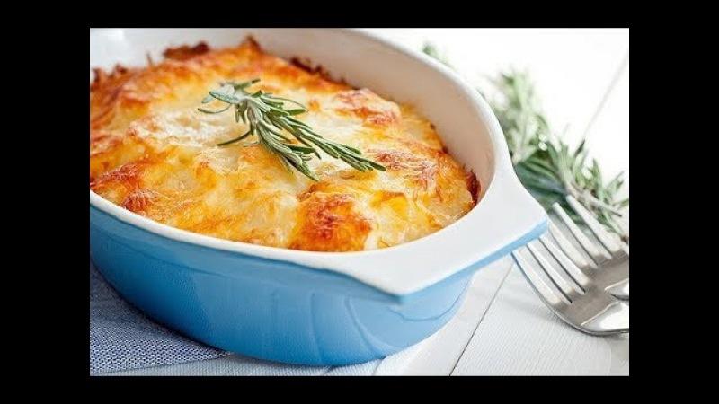 Гратен из картофеля рецепт от шеф повара Илья Лазерсон Обед безбрачия французская кухня