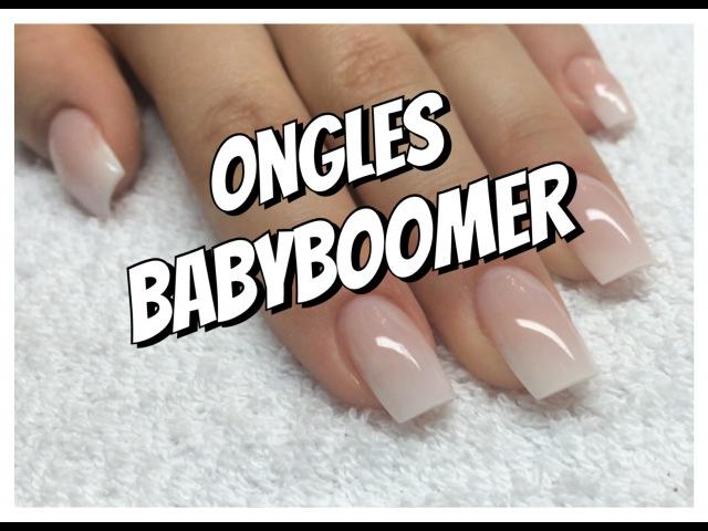 Ongles ➳ BabyBoomer - гелевое наращивание