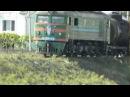 ВЛ23 с поездом