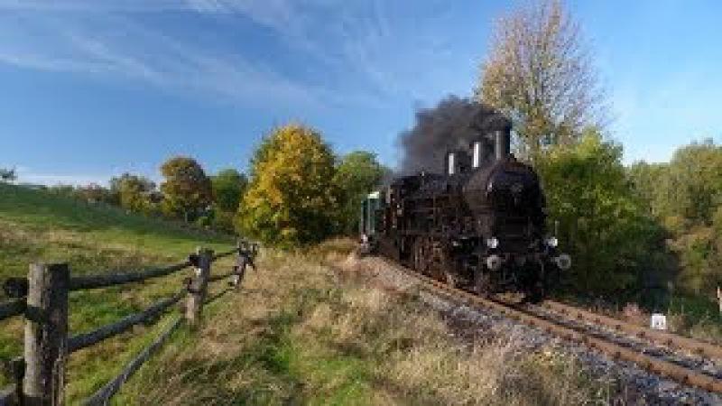 354.7152, T458.1190: Parní vlak Karlovy Vary - Horní Slavkov - Chyše