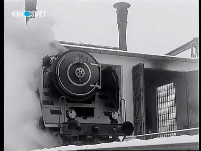 Testovacie jazdy lokomotív 498 a 534.03 (1947)