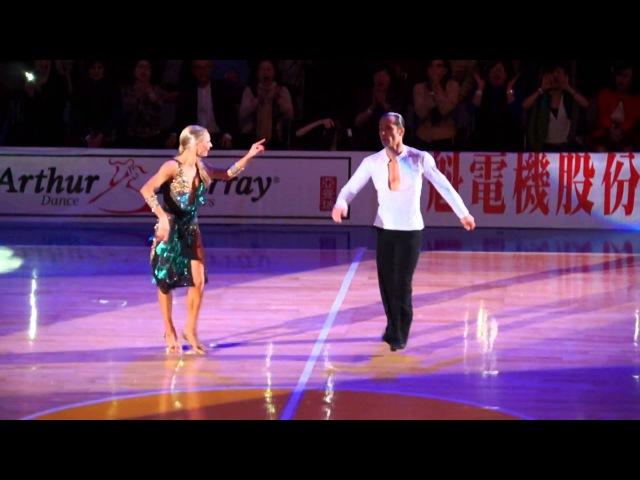 Riccardo Cocchi Yulia Zagoruychenko 1st place Honorary Dance