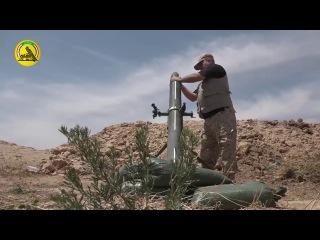 اللواء ١٣ في الحشد الشعبي يصد تعرضاً ليلياً فاشلاً لداعش على منطقة ام الشطن في ال...