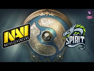 NaVi vs Spirit (bo1) The International 7 CIS 26.06.2017