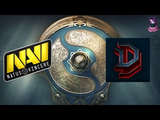 NaVi vs DD (bo1) The International 7 CIS 27.06.2017