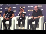 ESCKAZ in Kyiv Valentina Monetta &amp Jimmie Wilson (San Marino) press-conference