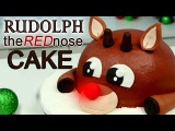 The EASIEST Rudolph The Red Nose CAKE!