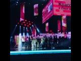 Так трогательно. Предложение руки и сердца на сцене Олимпийского в присутствии 15 000 000 человек.